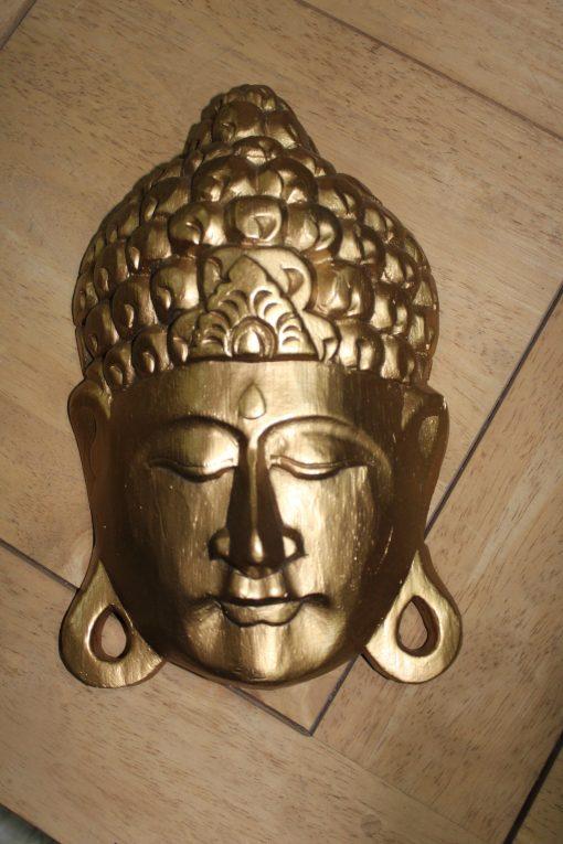 buddha dorado madera