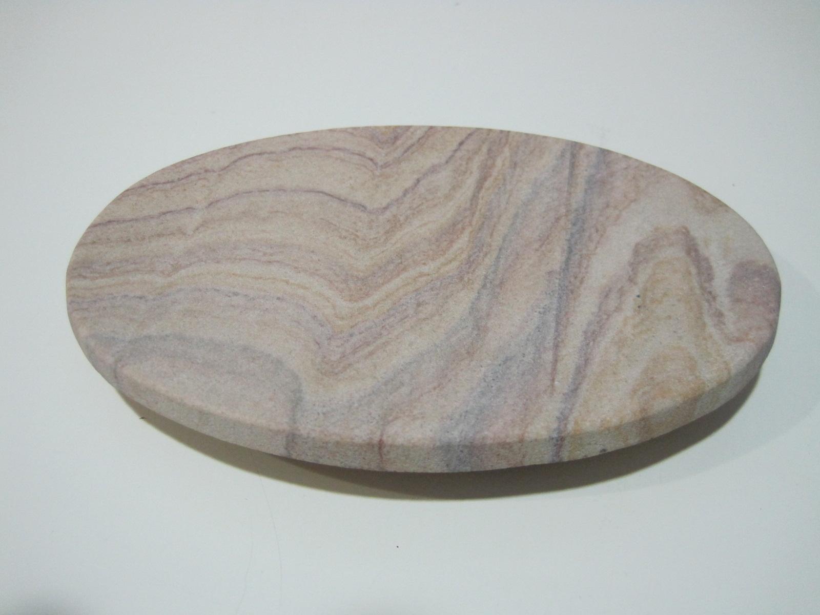 Jabonera piedra ovalada