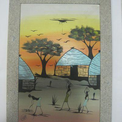 cuadro africano
