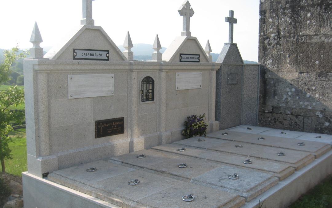 Panteones, nichos y lápidas
