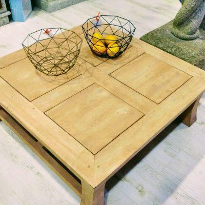 Mesa de tekka de centro