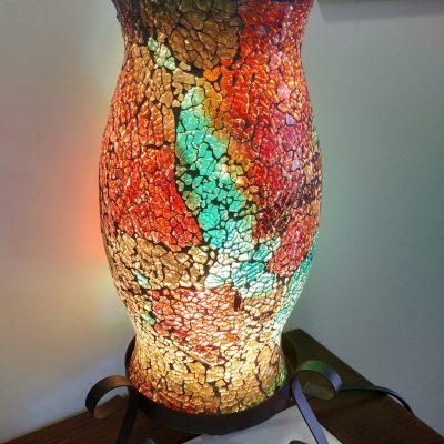 Lámpara cristal mosaico