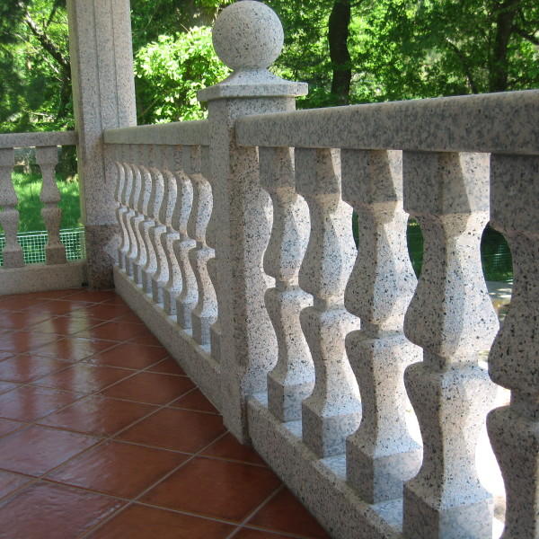 Balaustrada de piedra pedri as - Balaustradas de piedra ...