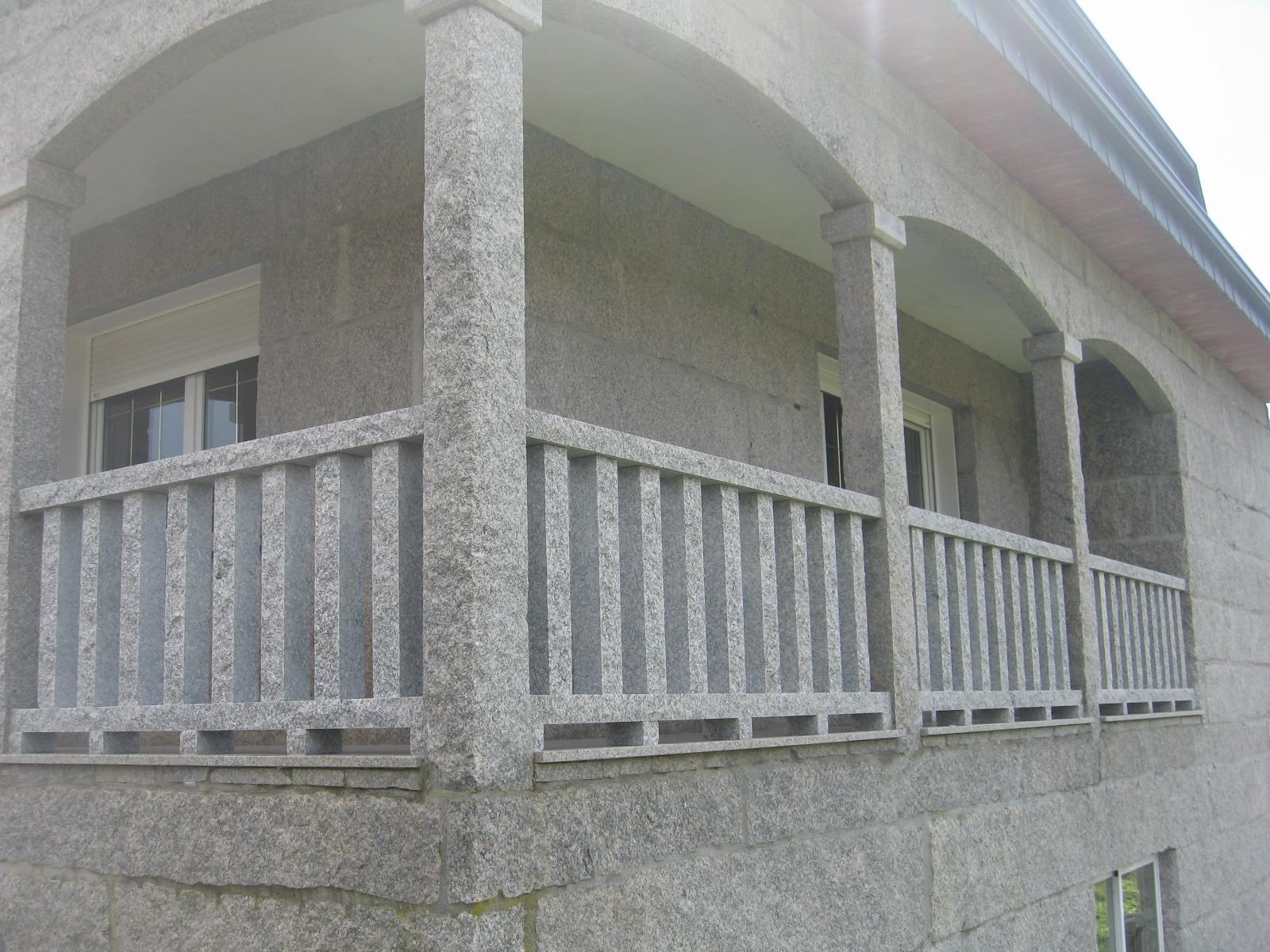 Balaustrada rustica piedra