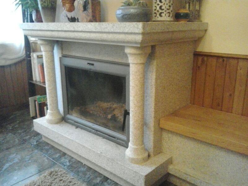 chimenea piedra