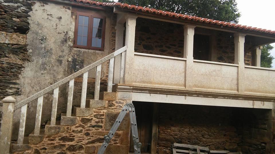 balcón piedra