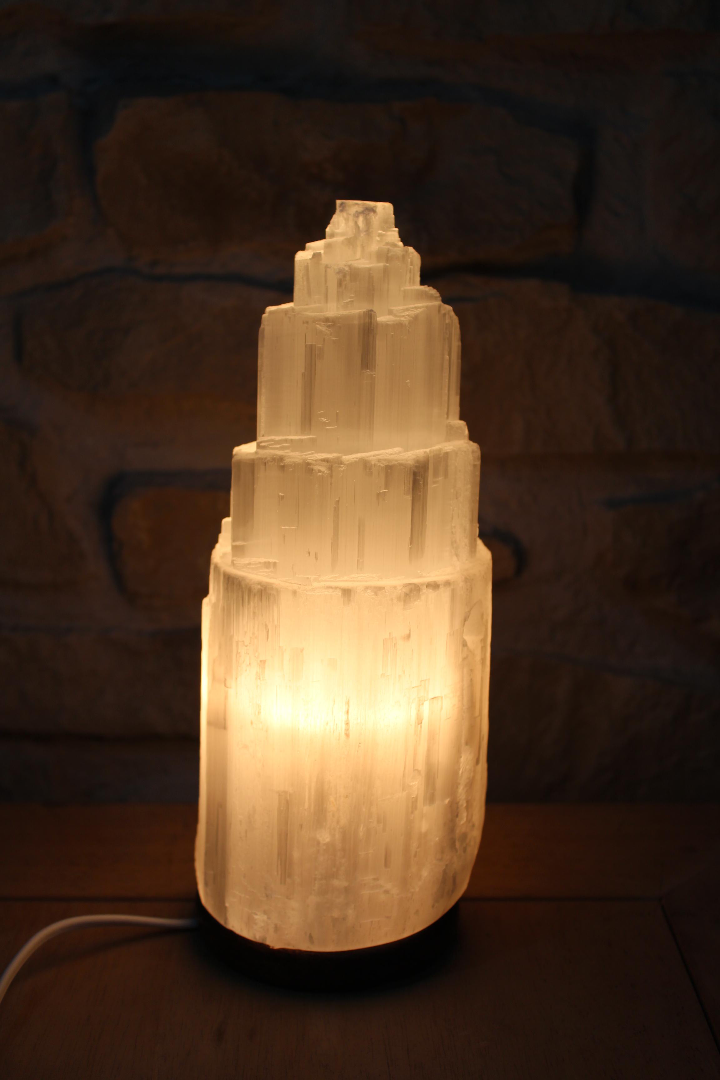lampara selenita pequeña