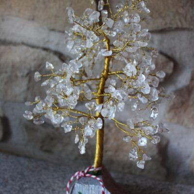 árbol feng shui cuarzo cristal