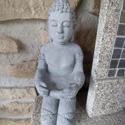 Buddha ofrenda resina