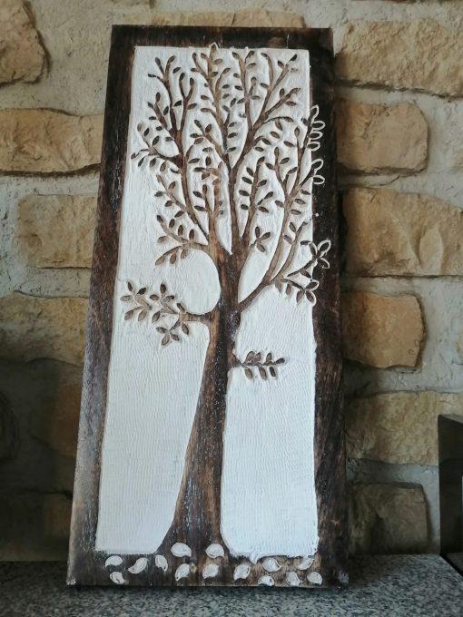 arbol madera tallada